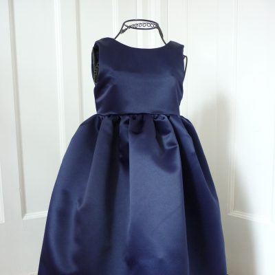 Duchess Satin flower girl's dress