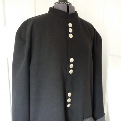Men's melton coat