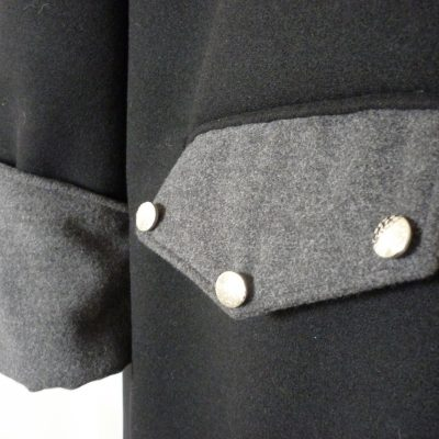 Men's melton coat