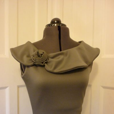Charcoal Bodycon dress