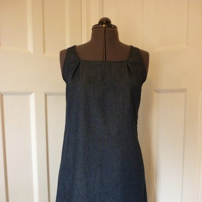 Jersey shift dress