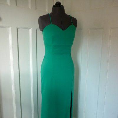 Full-length jersey dress