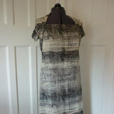 Printed Jersey shift dress