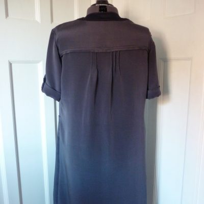 Crepe de Chine shift dress