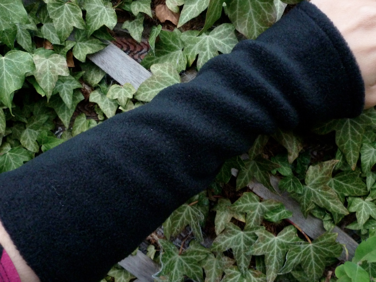 Fleece armwarmers - choice of colours